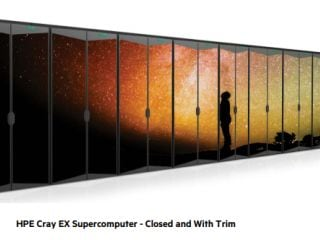 Supercomputer HPE-Cray EX to Rank Among World's Fastest; Will Help Study Climate Change, Wildfires, More