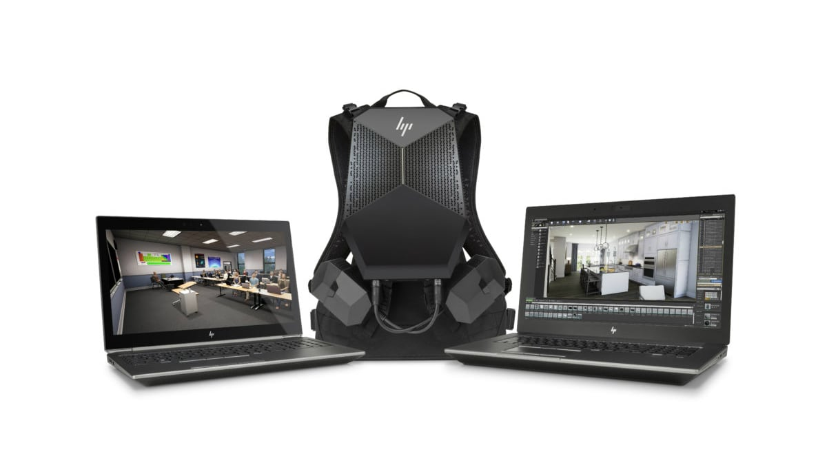 hpzbook main HP ZBook Range and the VR Backpack