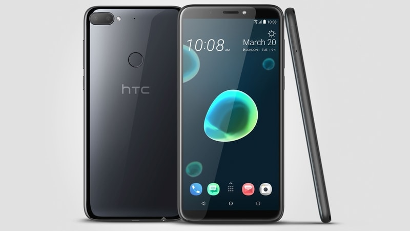 HTC Desire 12, Desire 12+ With 18:9 Displays Launched in India: Price, Specifications