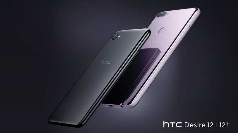 HTC Desire 12, Desire 12+ with 18:9 Displays Launched: Price, Specifications, Features