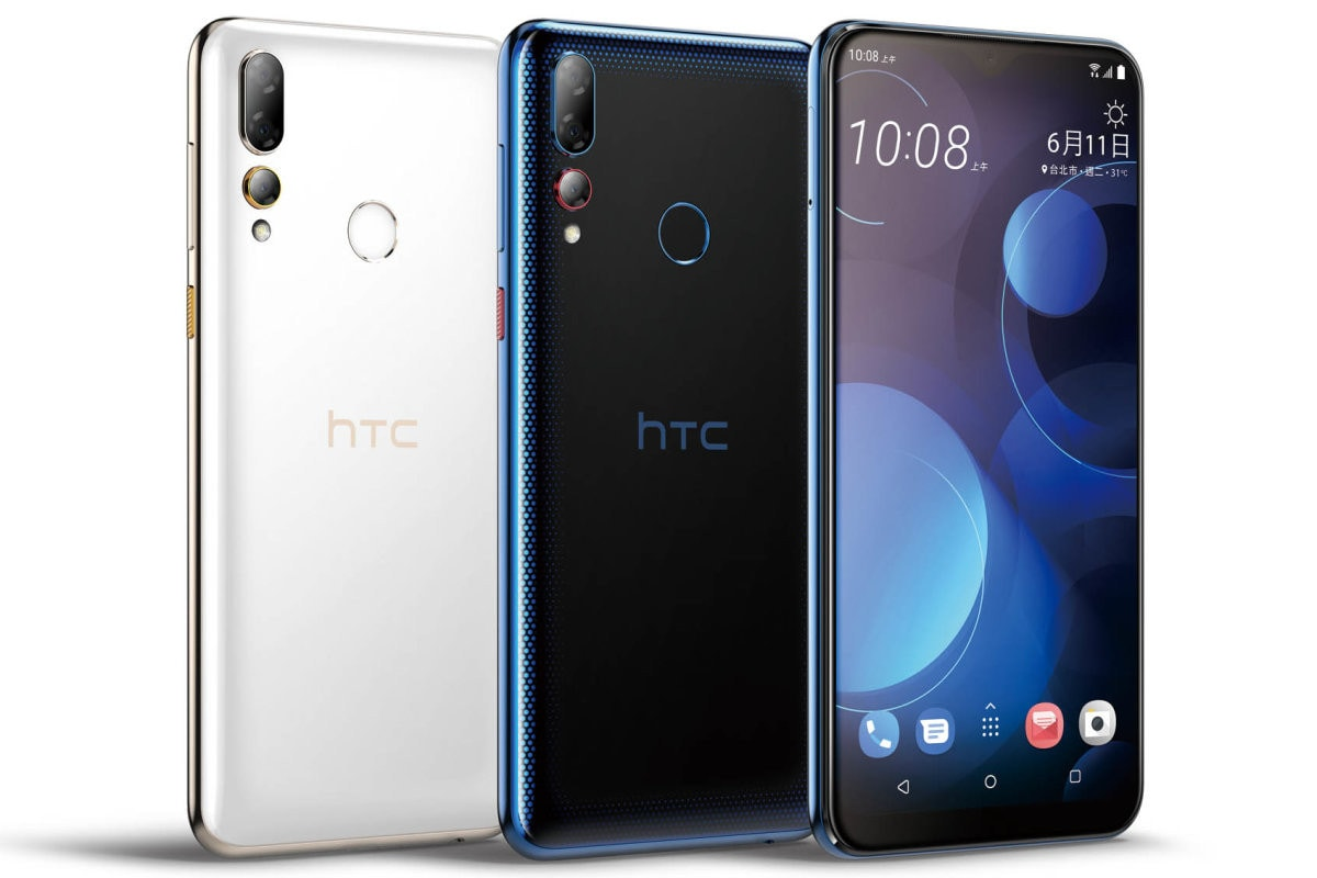 HTC U19e With Iris Unlock Support, HTC Desire 19+ With Triple Rear Cameras Launched: Price, Specifications