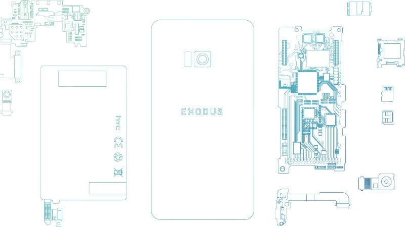 HTC Exodus 'World's First Native Blockchain Phone' Announced