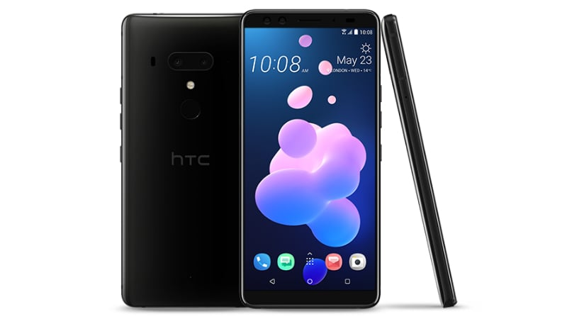 HTC U12+ hands-on preview: See-through design, pressure-sensitive sides, serious specs