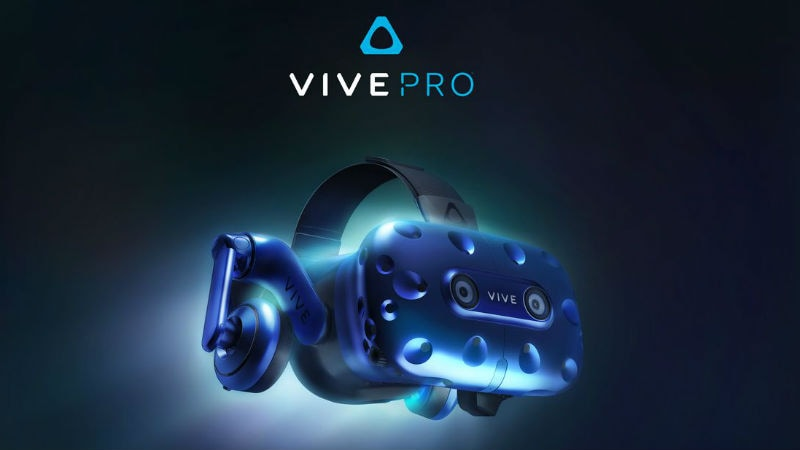 HTC announces VIVE Pro VR headset at CES 2018