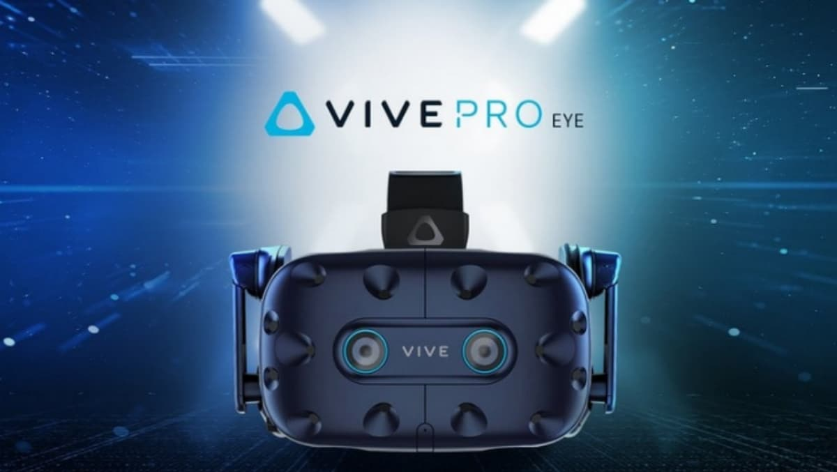 HTC Vive Pro Eye VR Headset With Native Eye-Tracking Goes on Sale at $1,599