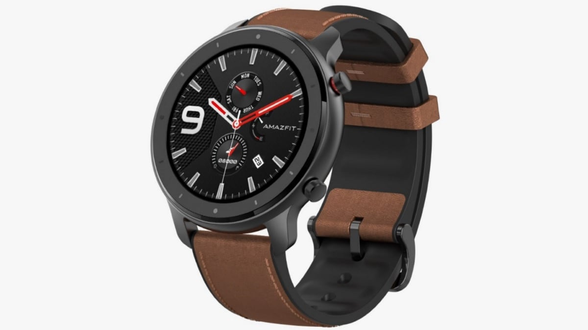 Huami Amazfit GTR Smartwatch With Optical Heart Rate Sensor, 24-Day Battery Life Launched in India