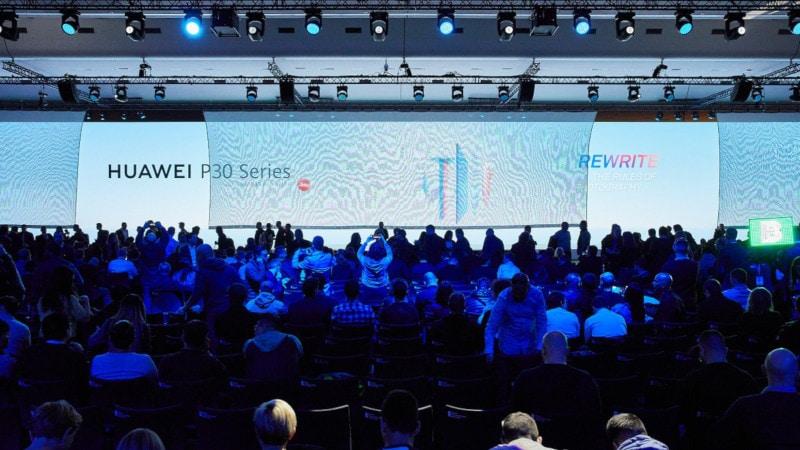 Début du lancement du lancement du Huawei P30, Pro P30: Mises à jour en direct du Palais des Congrès de Paris