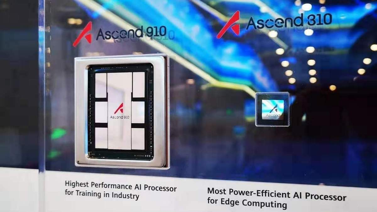 Huawei launches powerful AI processor Ascend 910
