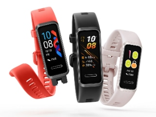 Huawei Band 4 With 2.5D Display, Optical Heart Rate Sensor Launched; Huawei VR Glass Debuts Too