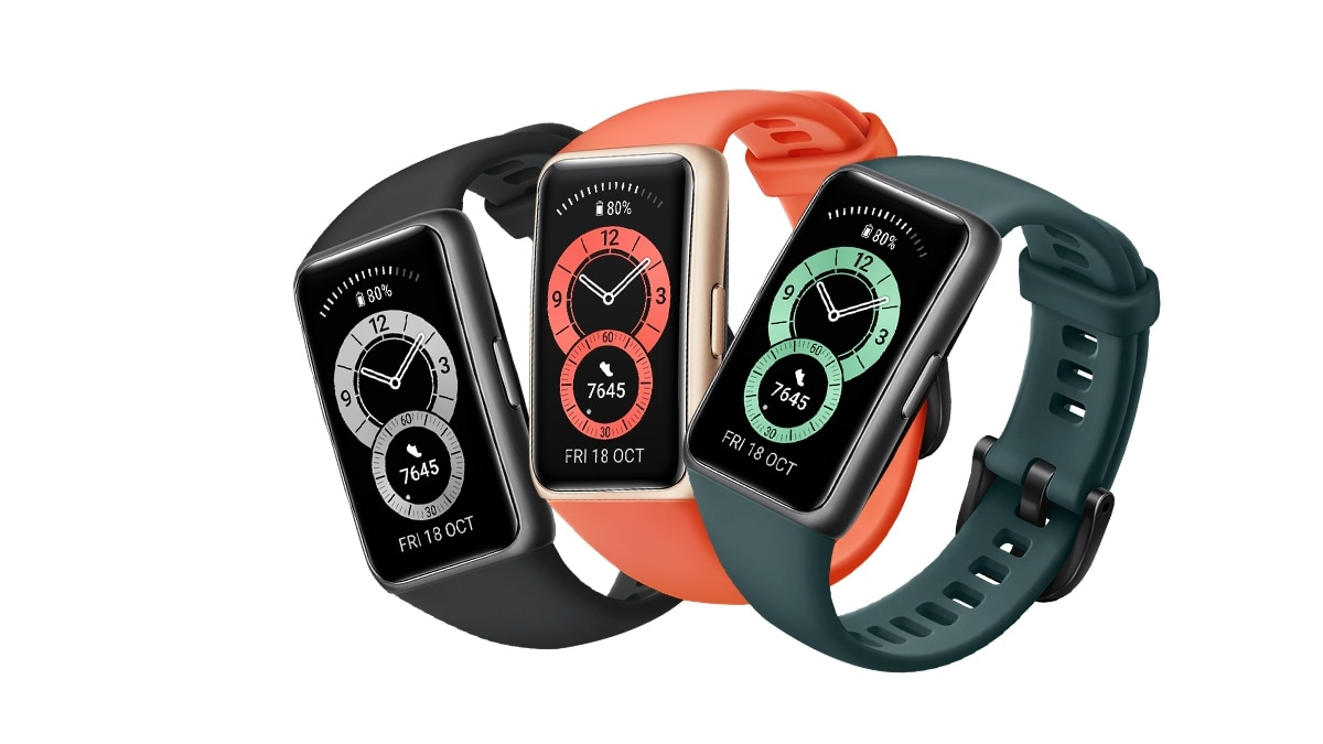 Huawei Band 6 With Two-Week Battery, SpO2 Monitoring Launched