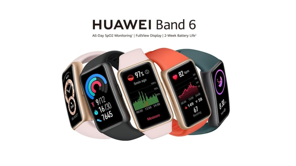 Huawei Band 6 to Go on Sale in India Starting July 12, Customers Can Avail a Free Huawei Mini Speaker