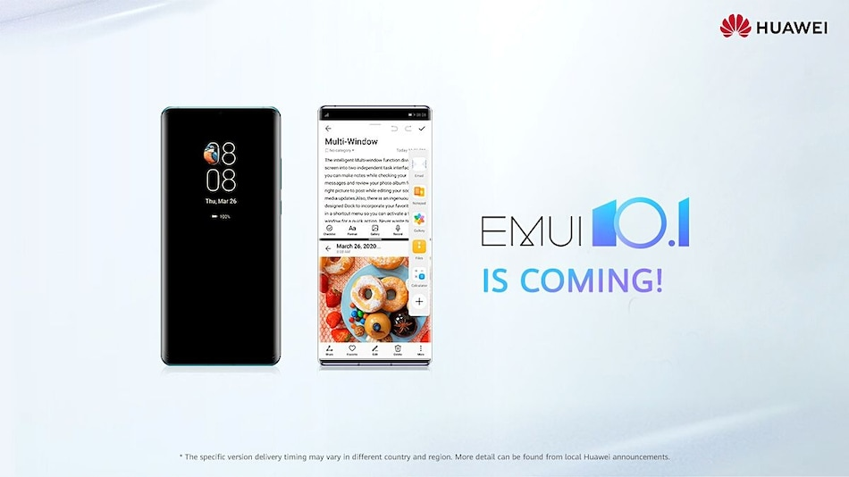 Huawei Details Which Phones Will Receive EMUI 10.1, Magic UI 3.1 Update Globally