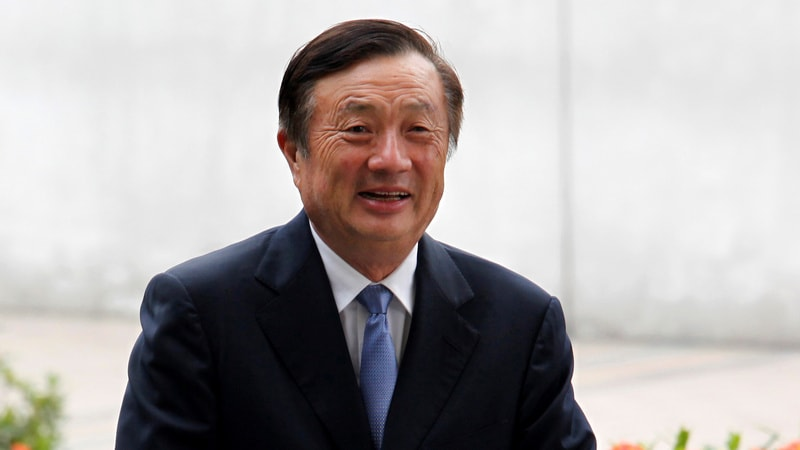 Huawei Founder Says CFO Arrest Was Politically Motivated