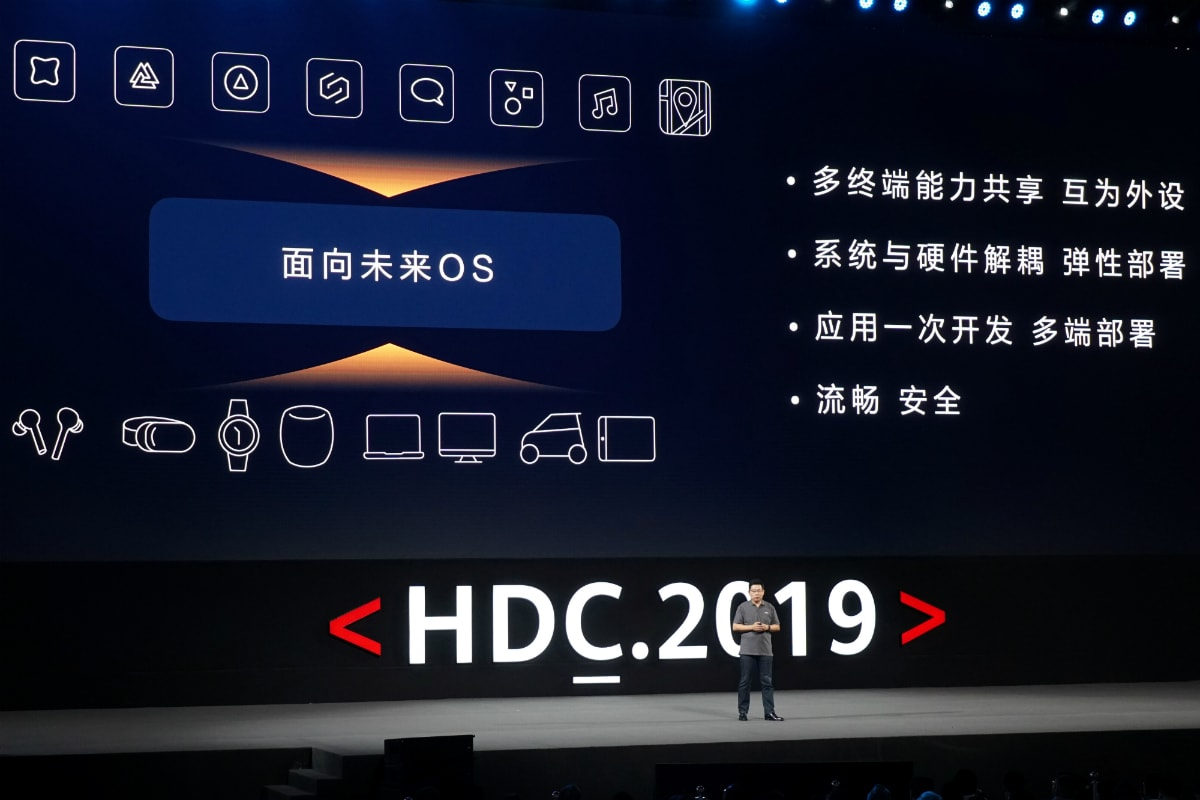 Huawei Unveils HarmonyOS to Rival Android, Says 'Can Immediately Switch' to It if Needed
