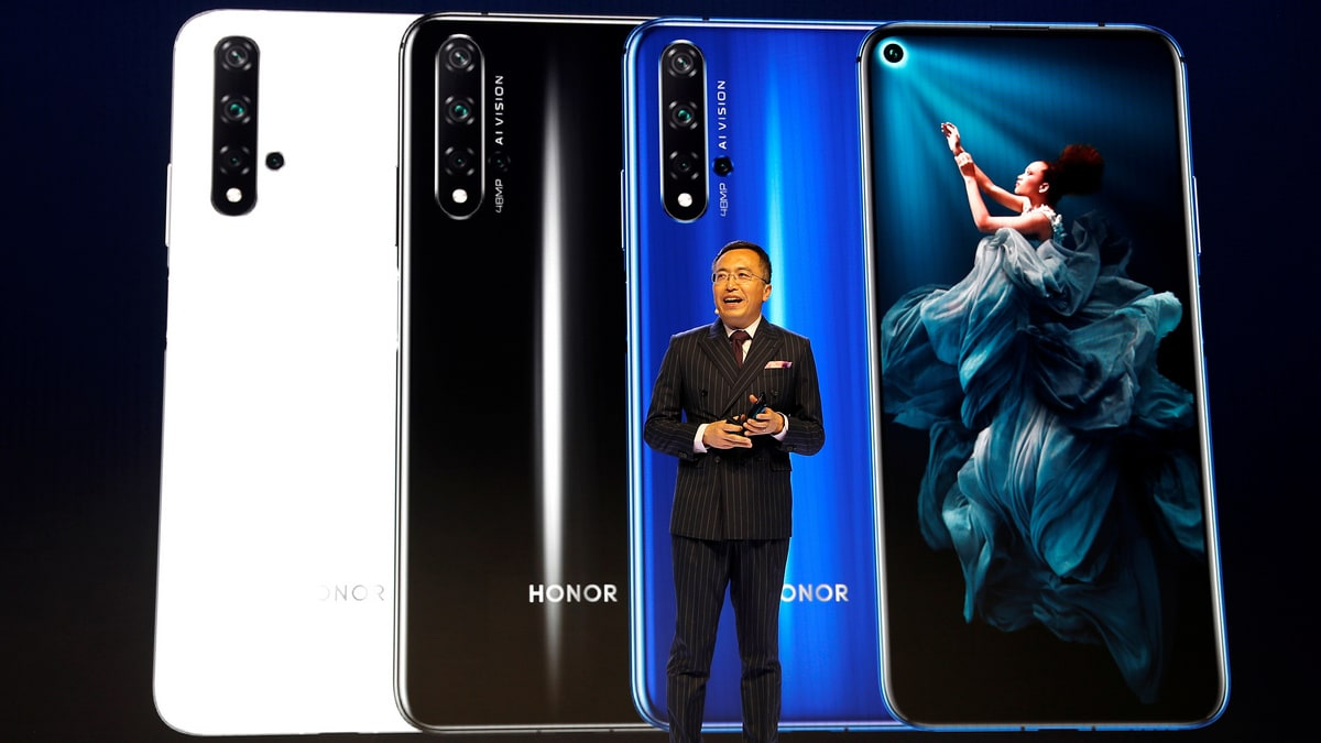 Huawei Puts Honor Above Android at New Smartphone Launch