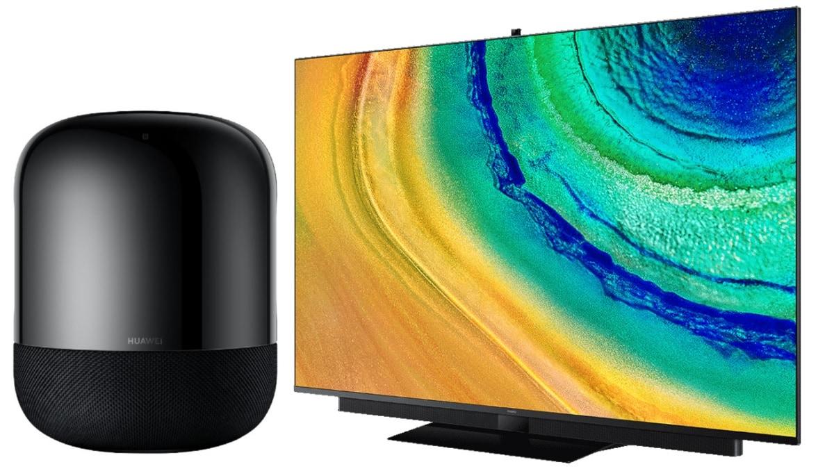 Ra mắt TV thông minh Huawei V75 4K, loa thông minh Sound X 5