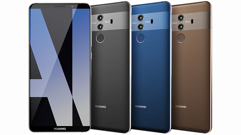 Huawei Mate 10 Pro Images and Price Leaked Ahead of Launch