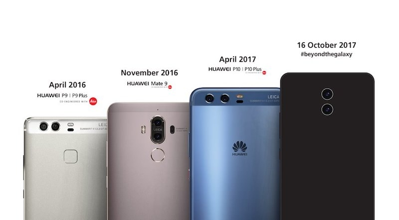 Huawei Mate 10 Teaser Confirms Leica-Branded Dual Rear Cameras, October 16 Launch