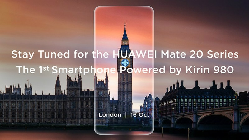 Huawei Mate 20, Mate 20 Pro Launch Date Set for October 16; EMUI 9.0 Beta Programme Kicked Off