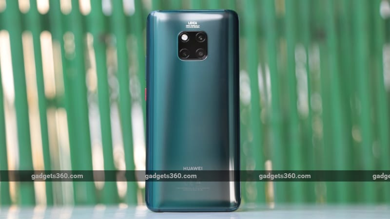 Huawei Mate 20 Pro With Triple Rear Camera Setup In Display