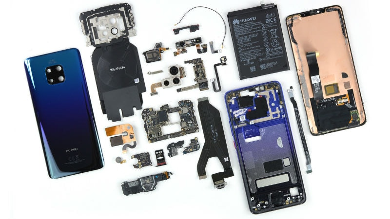 Huawei Mate 20 Pro iFixit Teardown Gives a Closer Look at In-Display Fingerprint Scanner