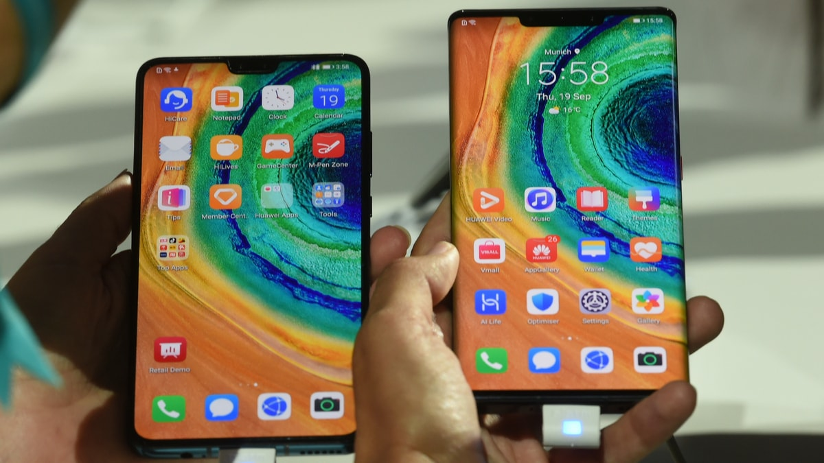 Huawei Mate 30 Series Launched Without Google Apps as US Sanctions Bite