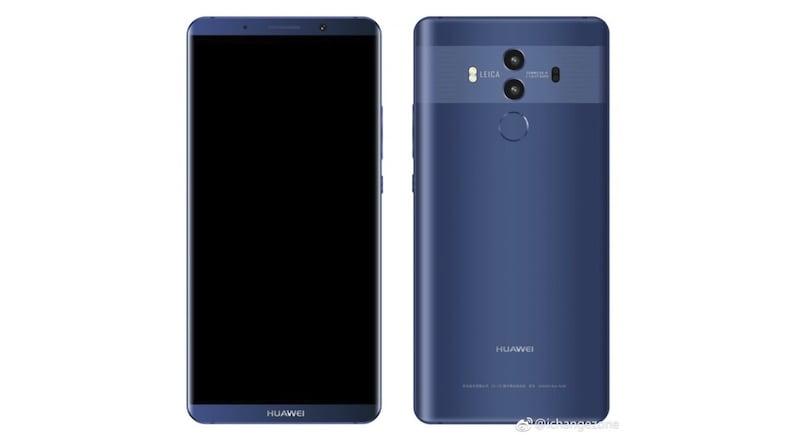 Huawei Mate 10, Mate 10 Pro की तस्वीरें और स्पेसिफिकेशन लॉन्च से पहले लीक