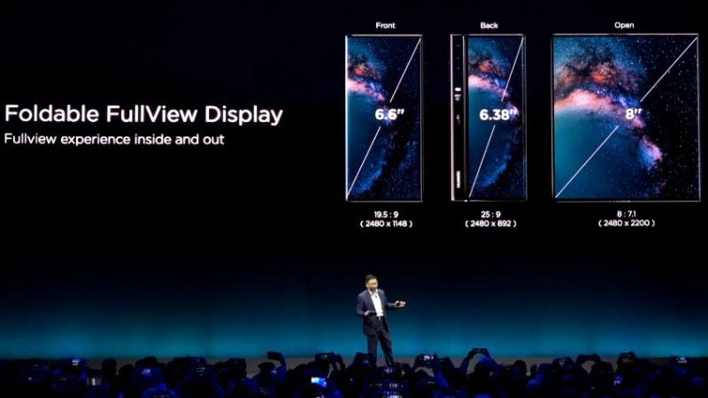 huawei mate x design Huawei Mate X