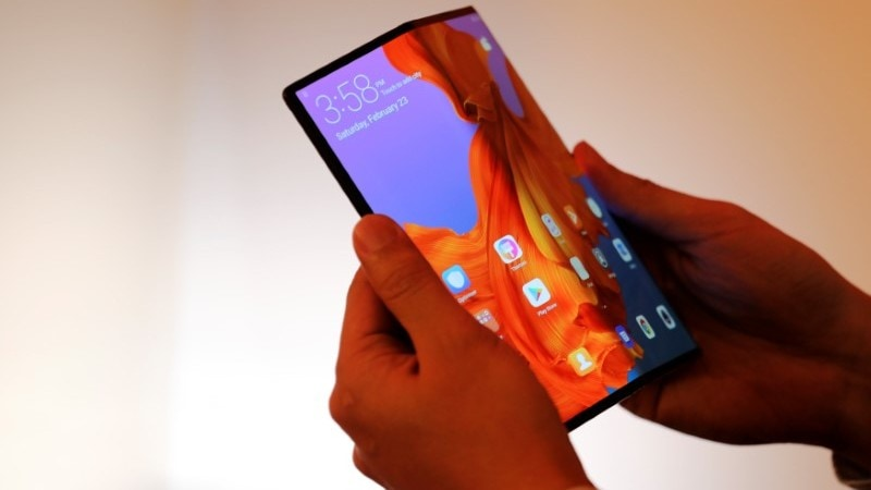 New Sharp 6.18 inch foldable AMOLED display shown off on video
