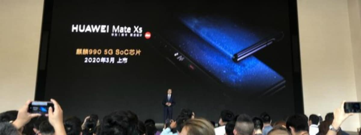 huawei mate xs launch showcase china sohu com Huawei Mate XS