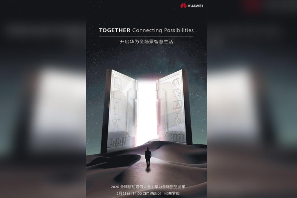 huawei mwc 2020 teaser weibo Huawei MWC 2020  Huawei