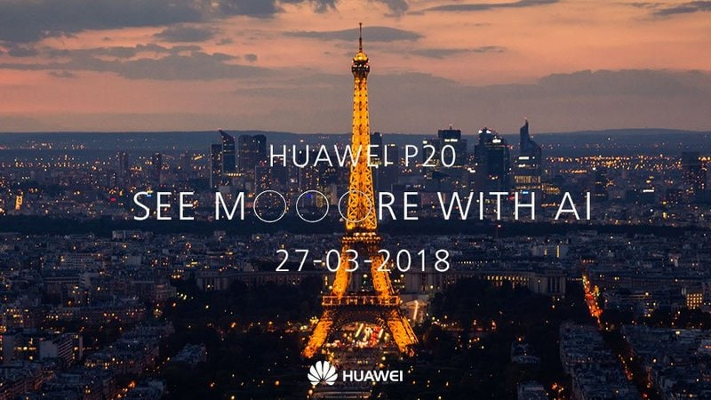 Huawei P20 Flagship Smartphone Launch Set for March 27