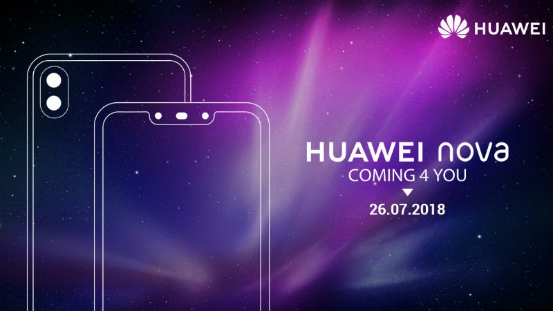 Huawei Nova 3, Nova 3i Expected to Launch in India on July 26, Will Be Amazon Exclusives