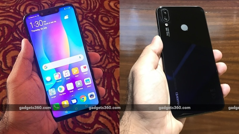 huawei nova 3i front back gadgets 360 Huawei Nova 3i Price in India Launch