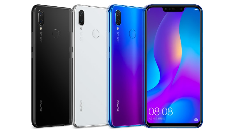 Huawei Nova 3 to Be Available in Open Sale From August 23, Nova 3i Iris Purple Variant's First Sale on August 21