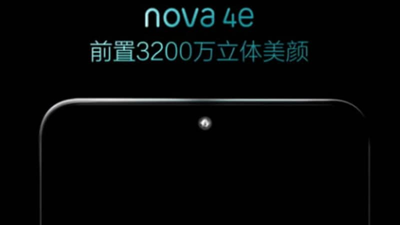Huawei Nova 4e Spotted on Geekbench With 6GB of RAM, Android Pie Ahead of Formal Launch