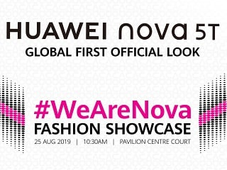 Huawei to Unveil Its Nova 5T Smartphone on August 25