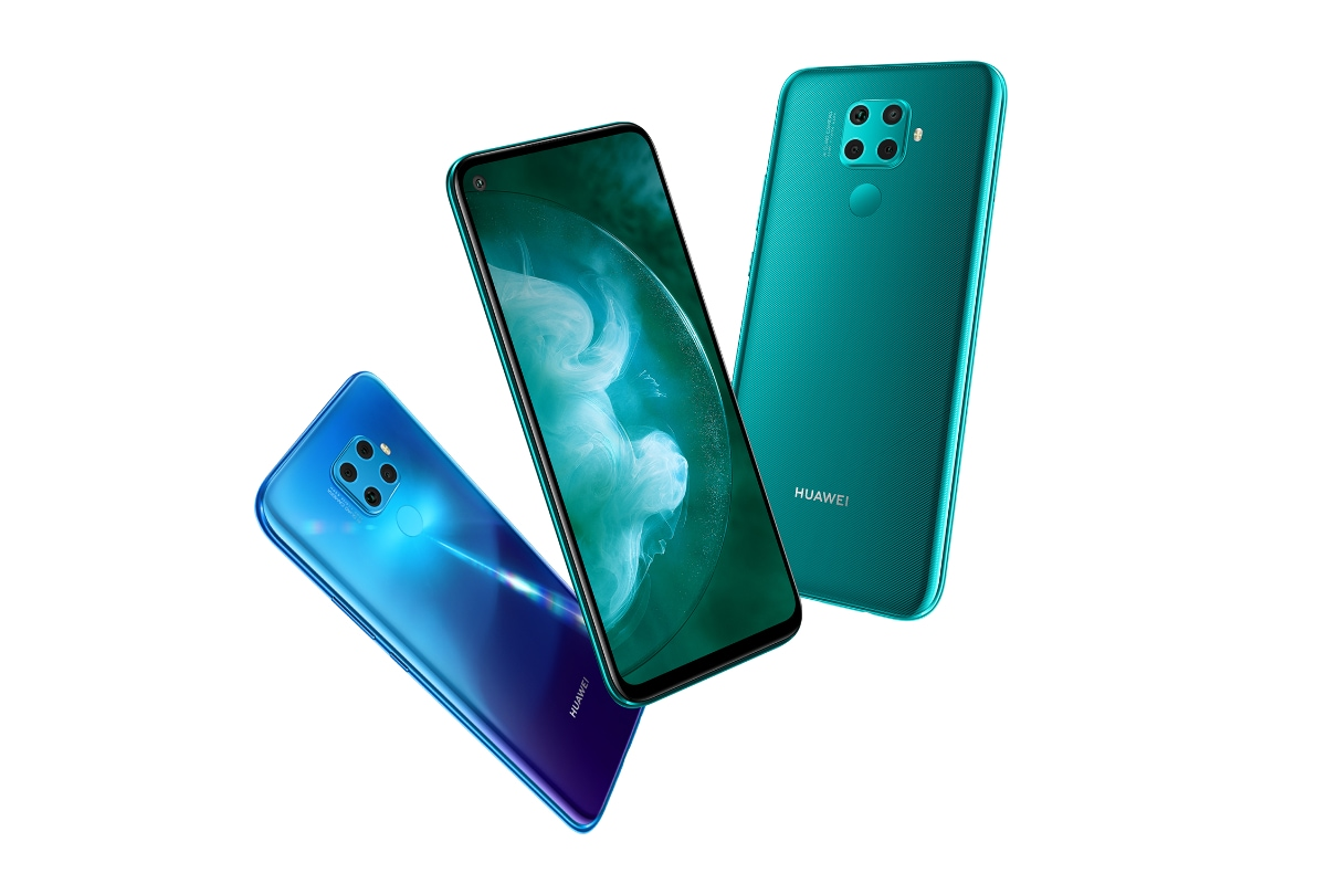 Huawei Nova 5z goes official with 48MP quad cameras