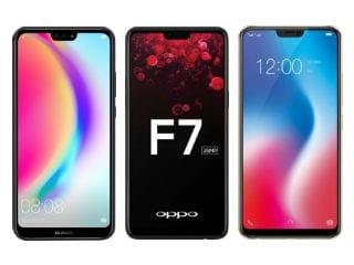 Huawei P20 Lite, Oppo F7 और Vivo V9 में कौन है सबसे बेहतर?