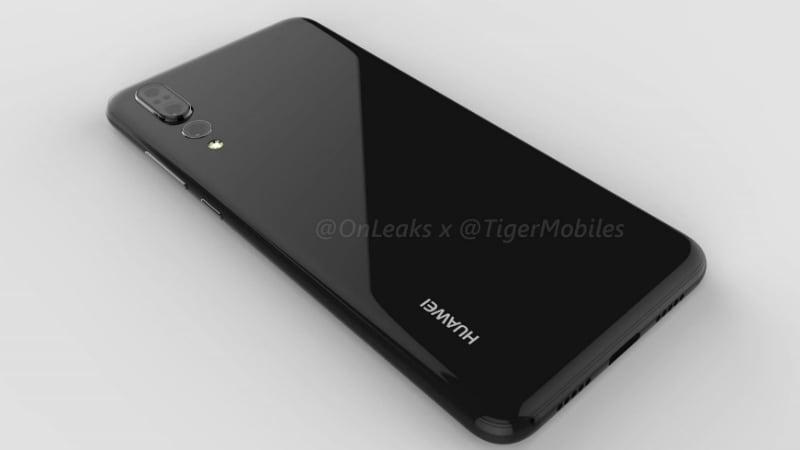 huawei p20 plus renders tigermobiles inline Huawei P20 Plus Triple Camera Setup