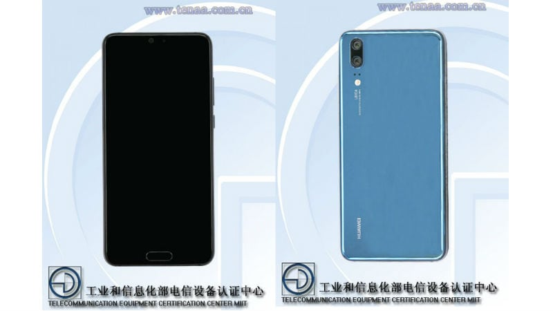 Huawei P20 appear in TENAA photos with dual cameras
