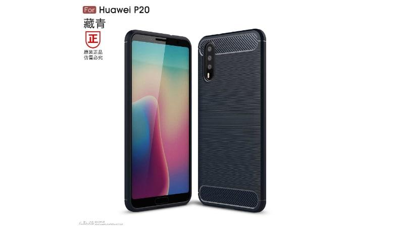 Huawei P20 स्मार्टफोन में हो सकते हैं 3 रियर कैमरे, लीक हुई तस्वीर