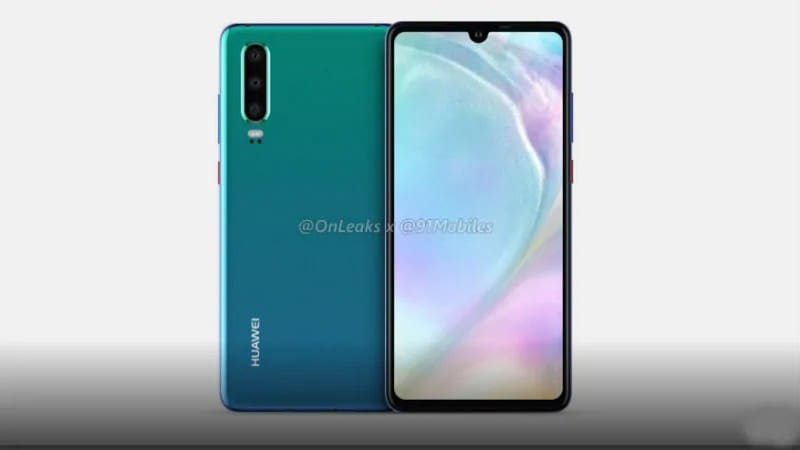 Huawei P30 Series Tipped to Sport In-Display Fingerprint Sensor, Huawei P30 Pro Might Get Optical Zoom