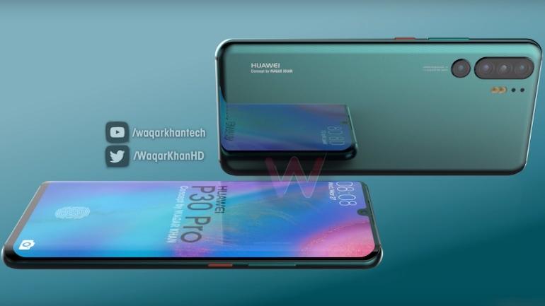 Huawei P30 Pro हो सकता है क्वाड कैमरा सेटअप और इन-डिस्प्ले फिंगरप्रिंट सेंसर से लैस