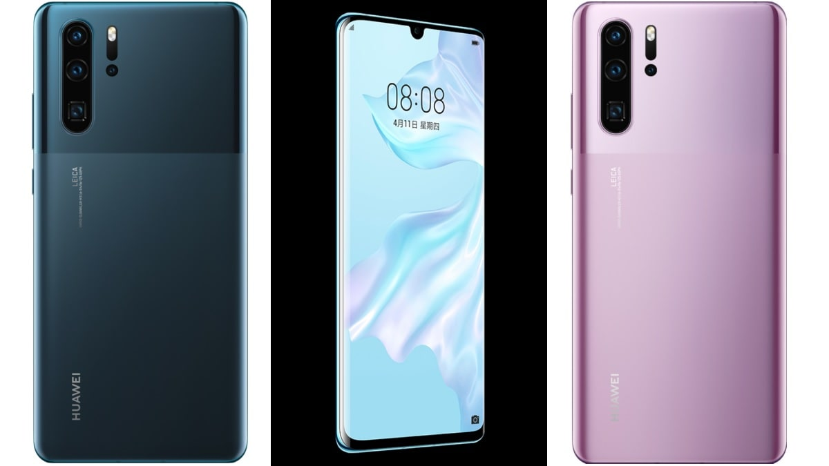 Huawei P30 Pro Gets 2 New Colour Variants, Global Shipments Cross 16.5 Million in 6 Months