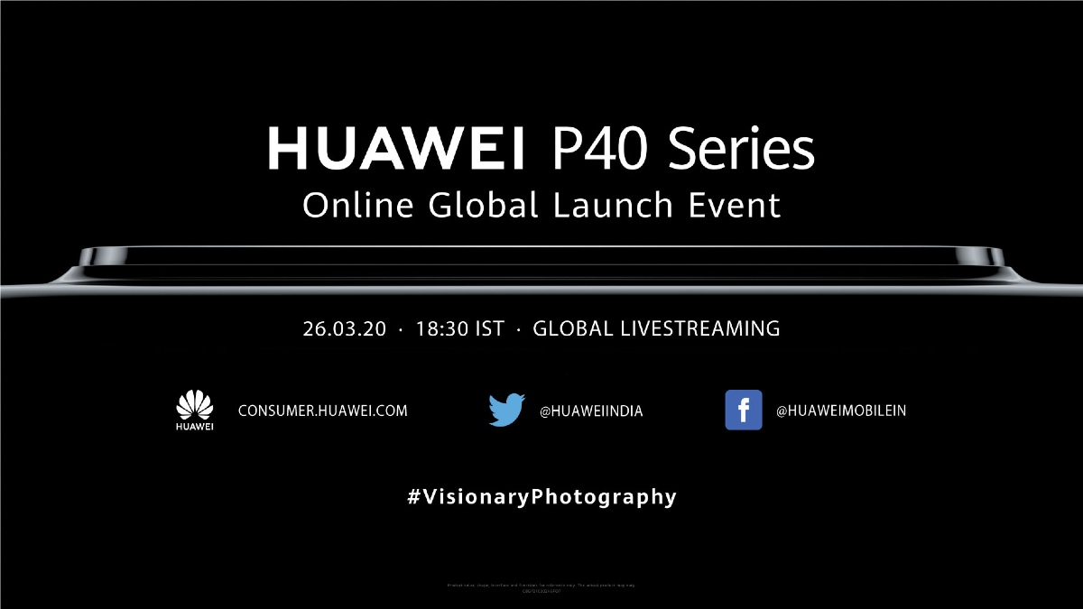 Huawei P40 Series Launch Set for Today: How to Watch Livestream, Expected Price, Specifications