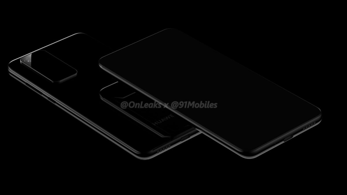 Huawei P40, Huawei P40 Pro Leak-Based Renders Emerge, Tipping Key Design Details