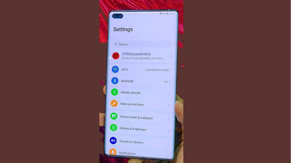 Huawei P40 Pro Live Photo Leak Tips Dual Selfie Cameras