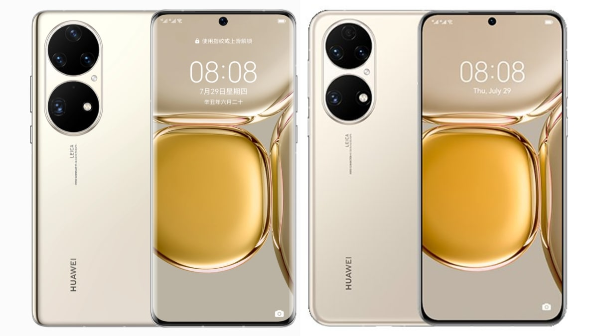 Huawei P50 Pro, Huawei P50 With 50-Megapixel Main Cameras Launched