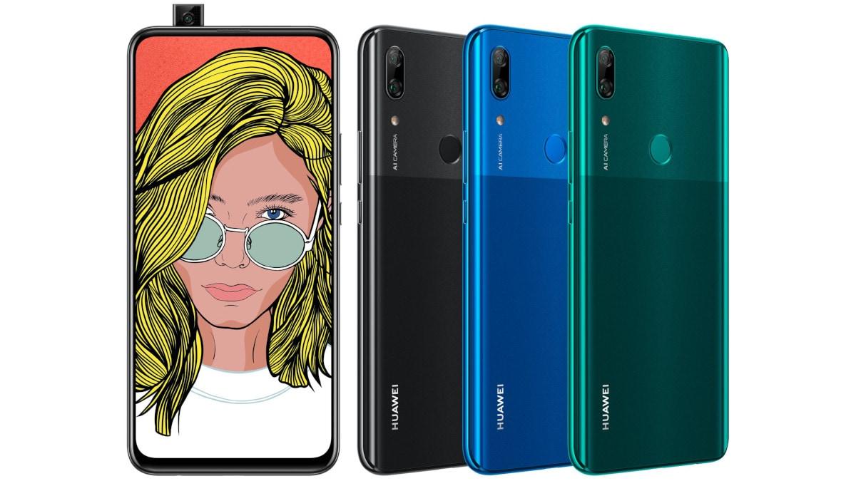Huawei P Smart Z Tipped to Feature Kirin 710 SoC, 16-Megapixel Pop-Up Selfie Camera, Renders Leaked